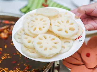 美蛙鱼头配菜藕片